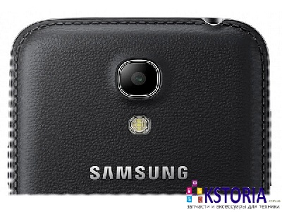Задняя крышка Samsung i9190, i9195 Galaxy S4 mini, Black Edition Кожа